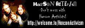 Hanson Activism